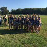 Girls Varsity Cross Country finishes 1st place at (City/SIAC Meet)