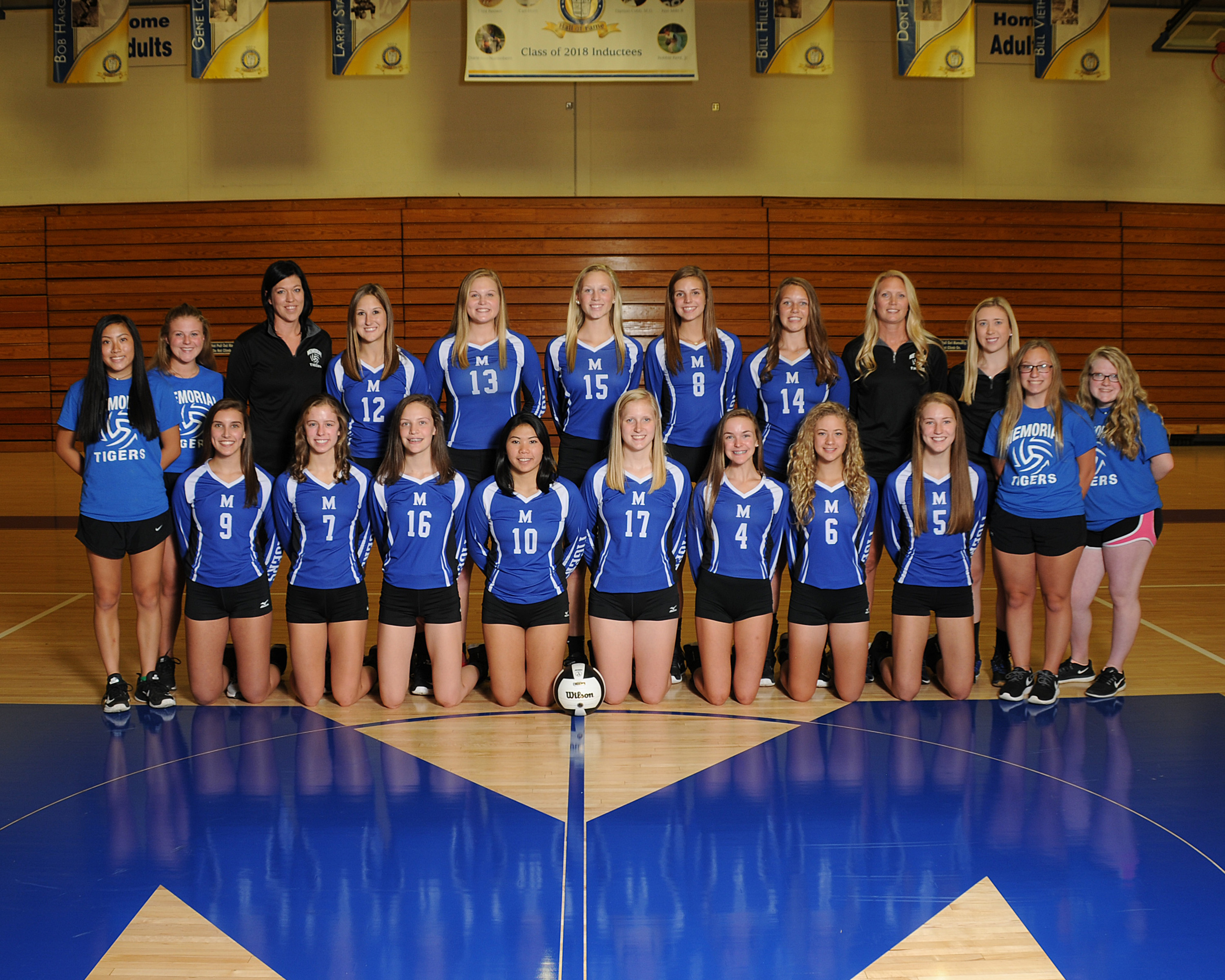 Memorial Volleyball ready for tournament play at Heritage Hills Sectional