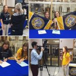 Two Senior Athletes Sign NLI with Marian University