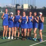 Girls Tennis Shut-Out Mater Dei for Regional Win