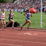 Girls Varsity Track Breaks Two School Records at IHSAA State Final
