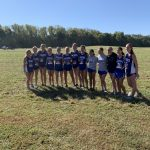 Girls Varsity Cross Country finishes 1st place at City and SIAC Meet
