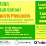 High School Sports Physicals for 20-21 School Year