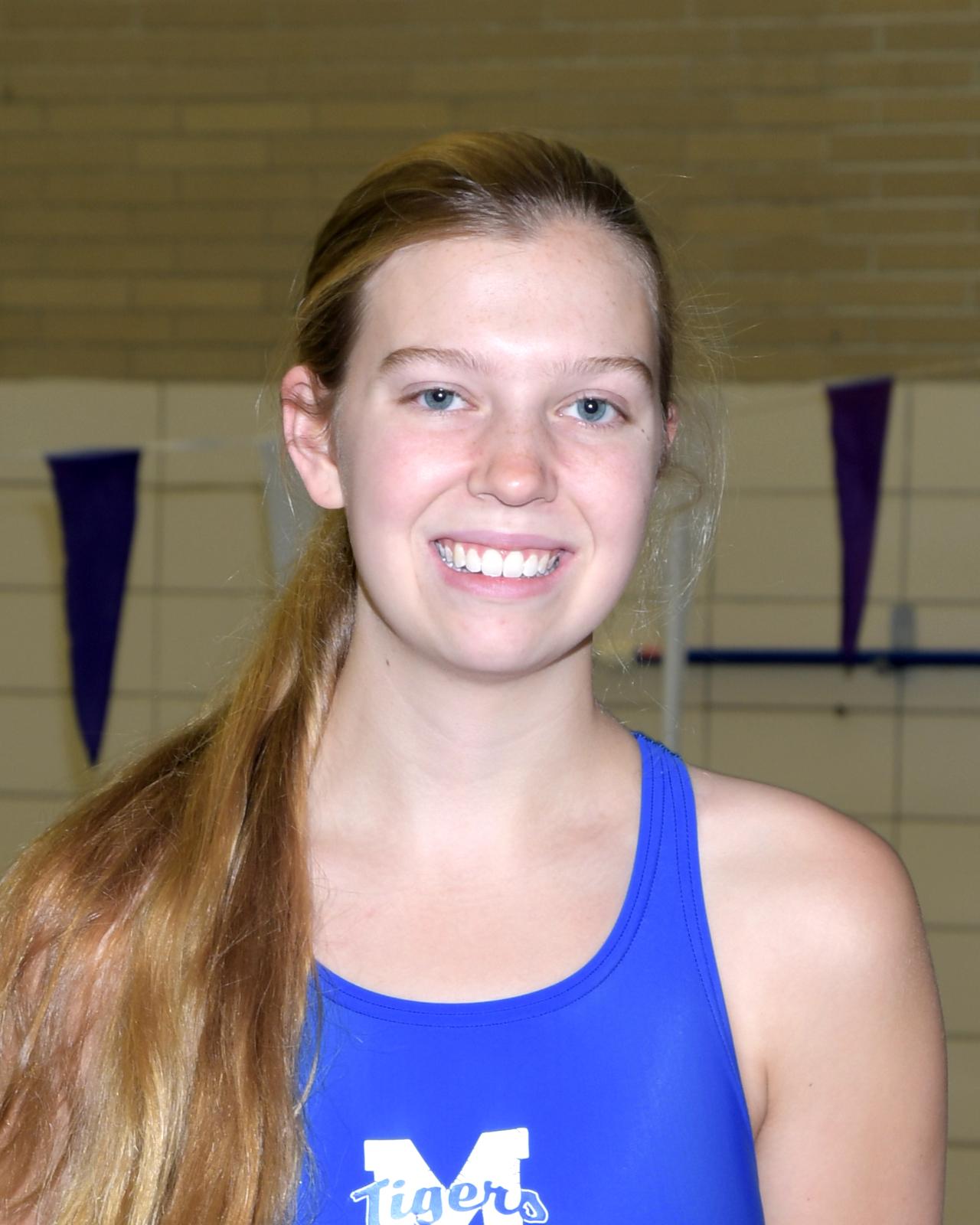 Anna McCoy named Kiwanis Award Winner for Girls Swimming