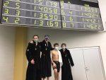 Boys Swim in State Finals