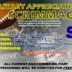Military Appreciation Night on August 23rd