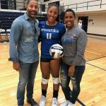 Taylor Baldwin Breaks the School's Career Volleyball Kill Record
