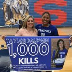 Taylor Baldwin Becomes First in School History to Reach 1,000 Kills