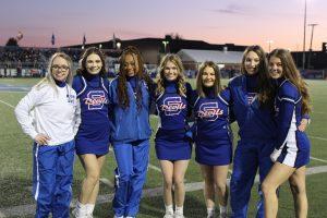 Senior Night for Cheer