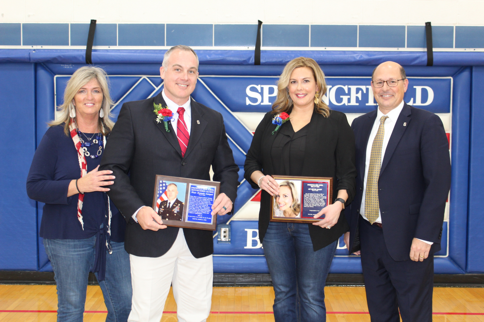 Kristopher Lovingood ('90) and Amy (Driver) Jackson ('98) Inducted into Hall of Fame
