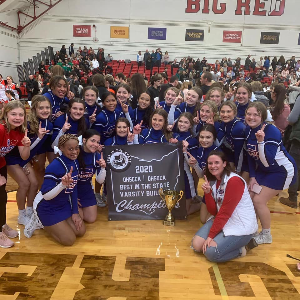 Springfield's Competition Cheer Team Takes Home Top Prize