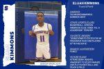 Senior Athlete Spotlight: Elijah Kimmons