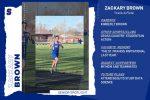 Senior Athlete Spotlight: Zackary Brown