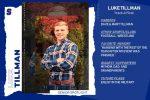 Senior Athlete Spotlight: Luke Tillman