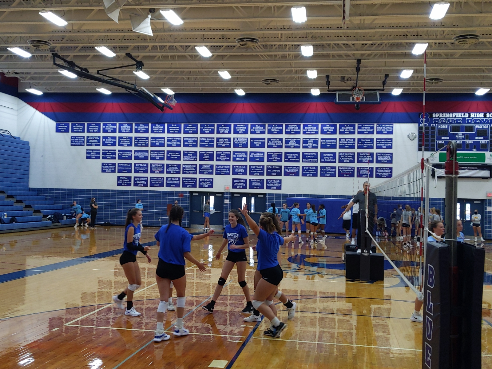 Volleyball Scrimmages 8/15/20