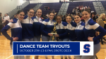 Dance Team Tryouts Scheduled for October 27th