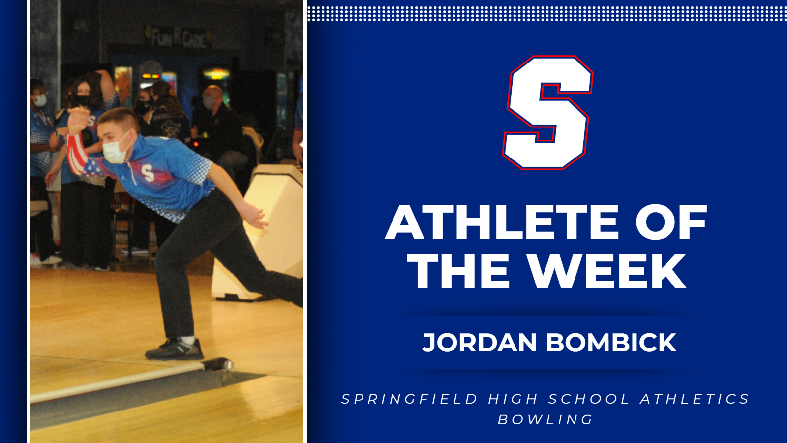 Athlete of the Week: Jordan Bombick