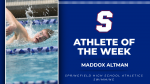 Athlete of the Week: Maddox Altman