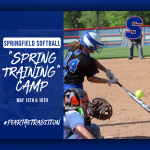 "Springfield Softball's ""Spring Training"" Youth Camp"