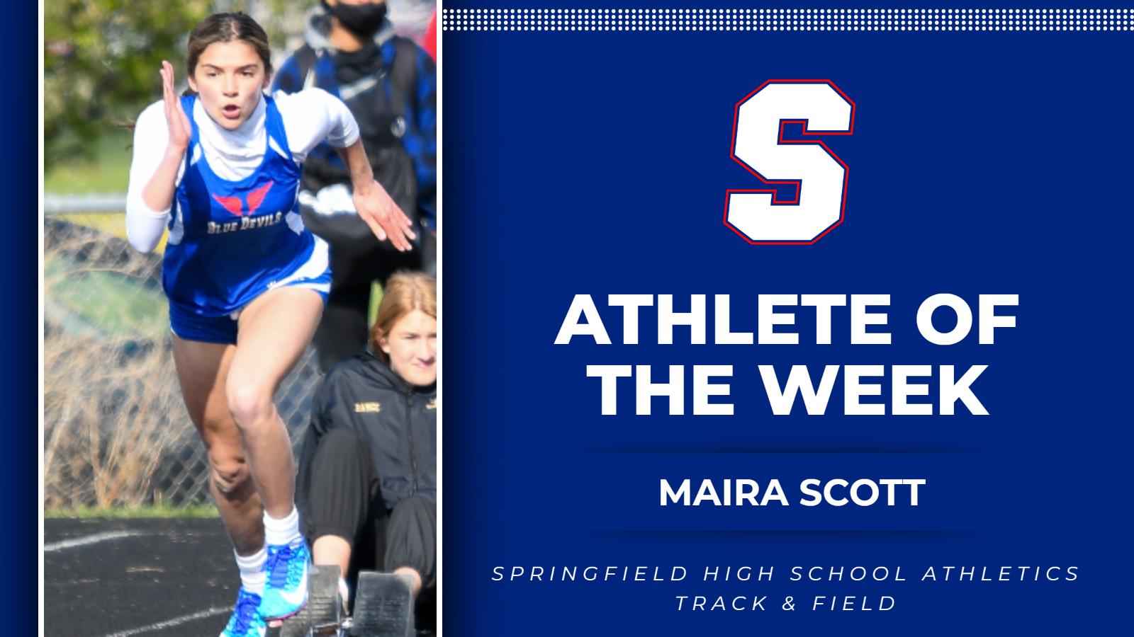 Athlete of the Week: Maira Scott
