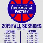 Youth Basketball Fundamental Factory Fall Sessions Announced
