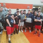 Boys Varsity Powerlifting finishes 3rd place at Bradford Power Lifitng Meet