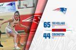 Girls Varsity Basketball beats Covington 65 – 44