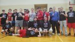 Coed Varsity Powerlifting finishes 1st place at 11th Annual Tri-Village Powerlifting Meet (no spectators)