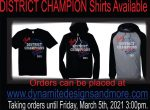 District Champion Shirt Available