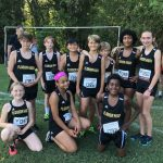 Middle School Girls Cross Country at Maclay