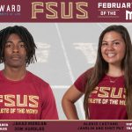 Cowhey + Ward Attorneys at Law FSUS March Athlete of the Month