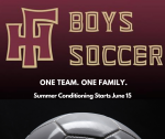 Boys Soccer Starts Back on June 15th!