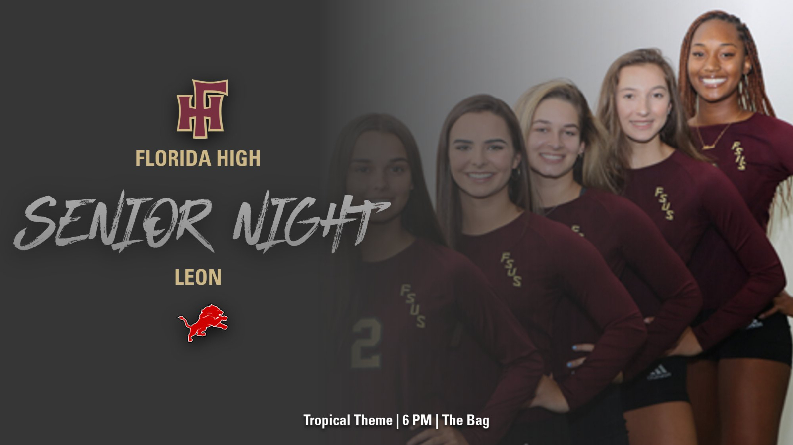 FSUS Volleyball Senior Night | TROPICAL NIGHT
