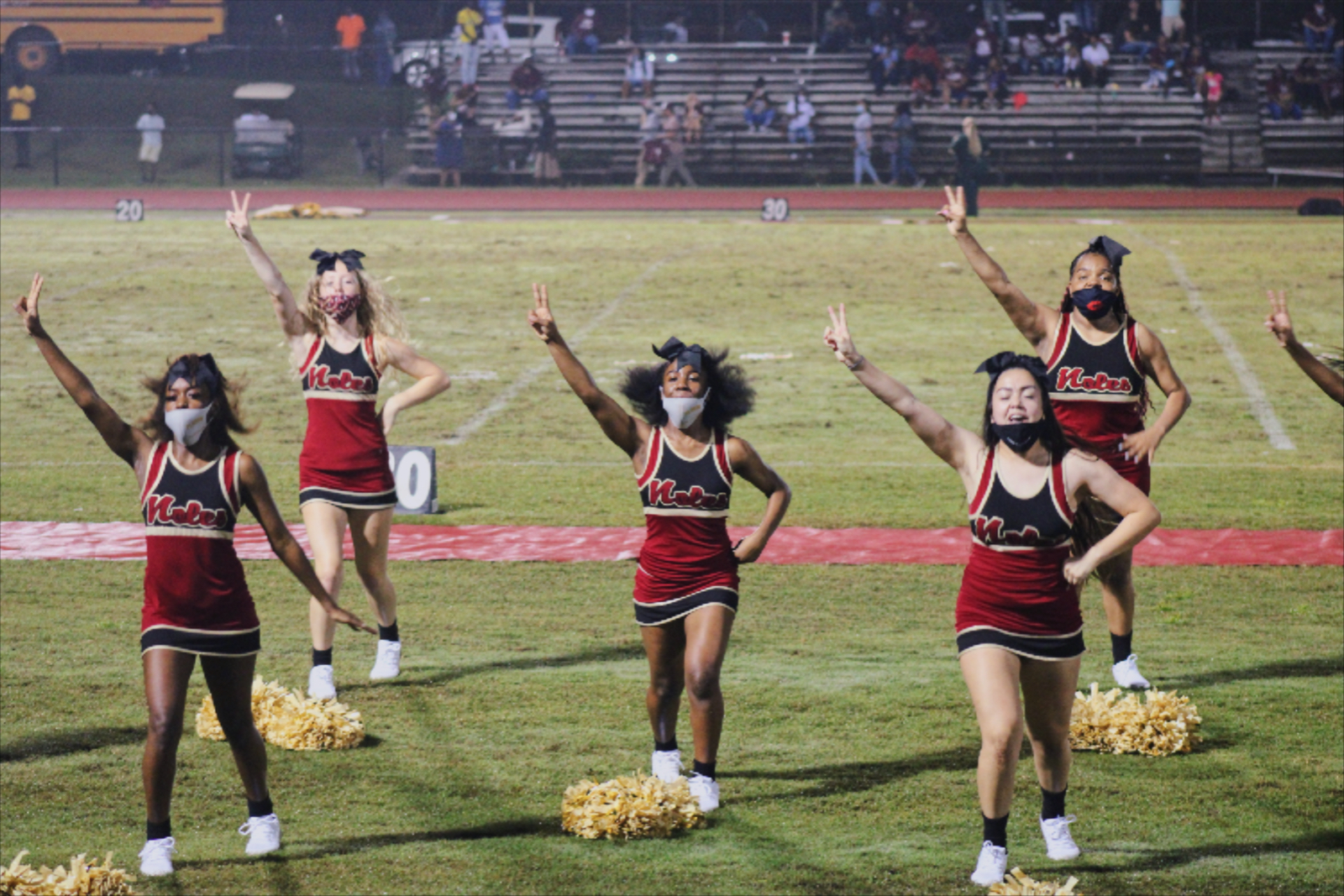 Varsity Cheerleading FHS vs. Madison County 9-25-2020