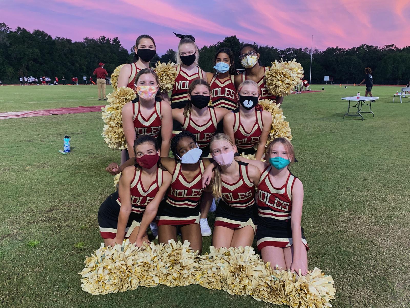 MS Cheerleading FHS vs. Wakulla 10-1-20