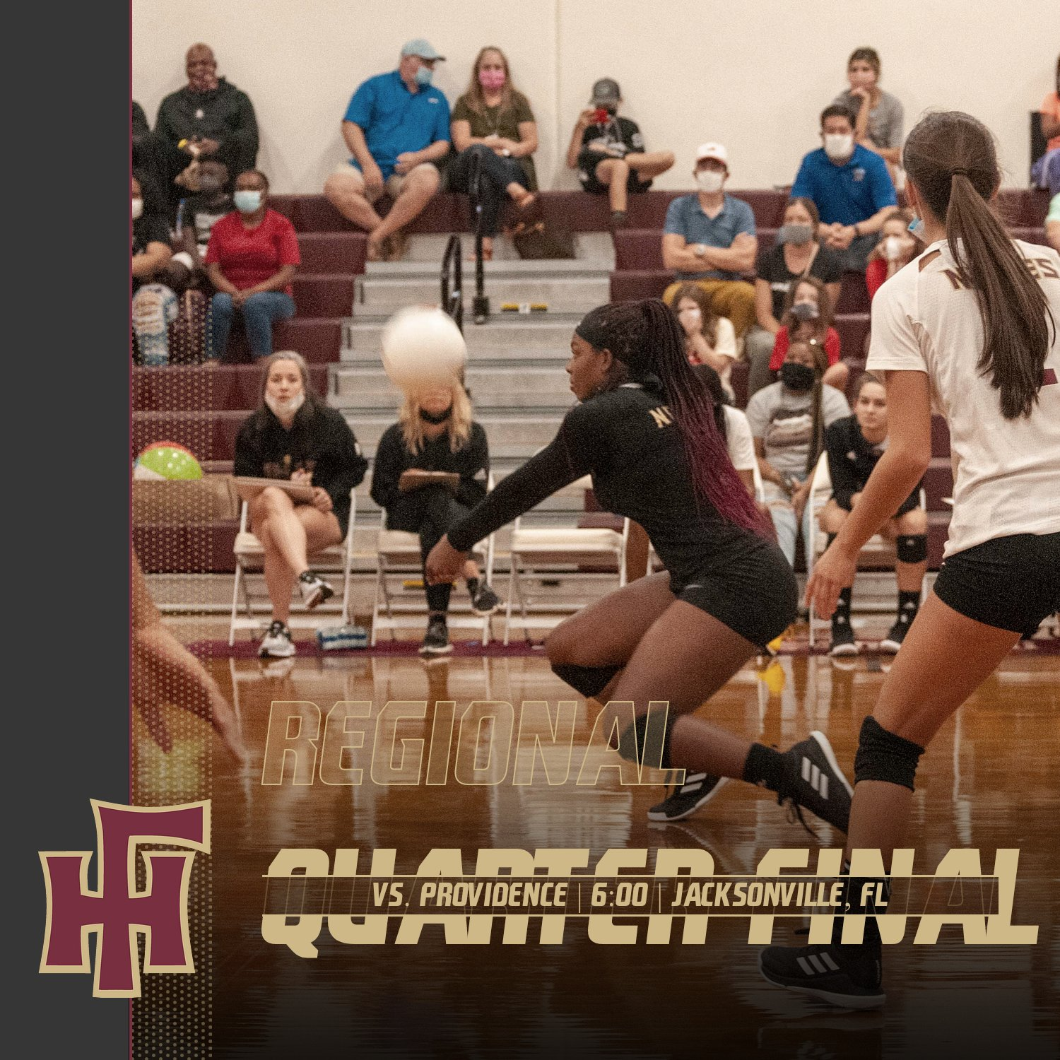 Varsity Volleyball heads to Jacksonville for Regional Quarter Final