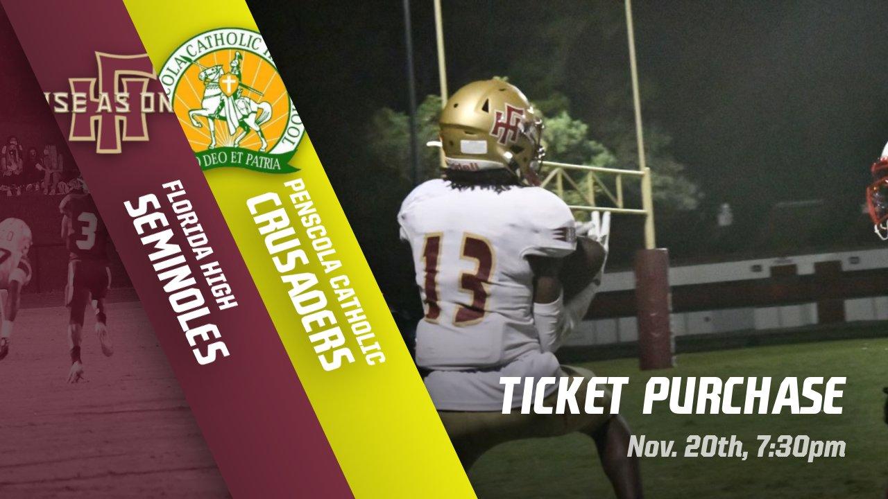 FSUS vs Pensacola Catholic Tickets Available