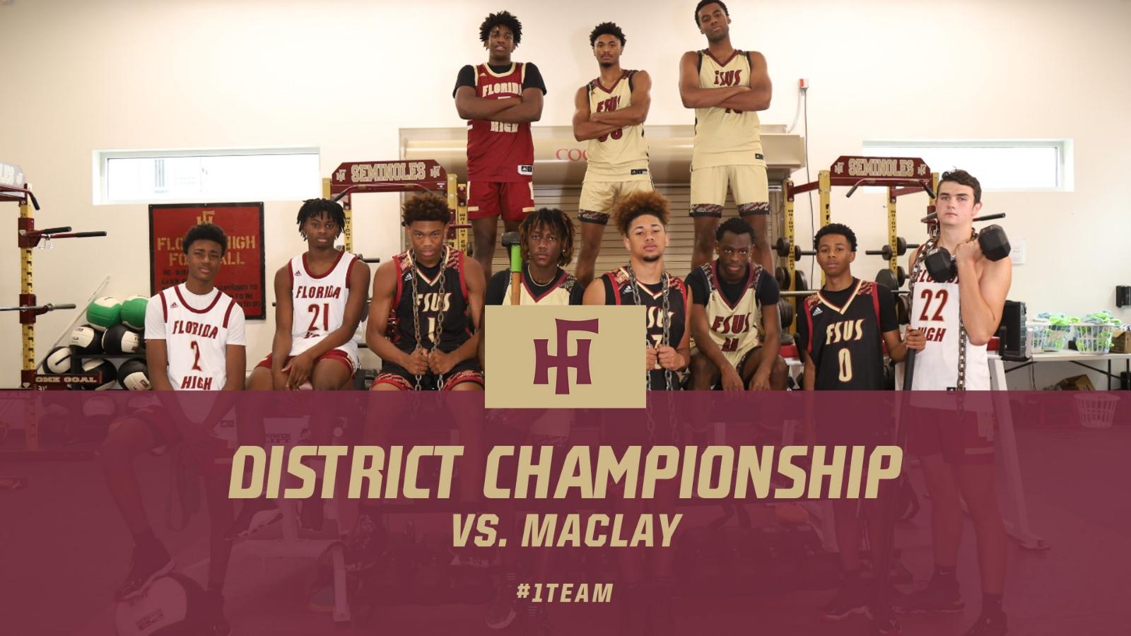 Boys Basketball District Championship Tickets