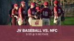JV Baseball vs. NFC   2.25.2021 @ 5:30 FSUS
