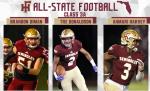 FSUS Trio Makes 3A All-State Football Team