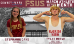 Cowhey + Ward FSUS March Athletes of the Month