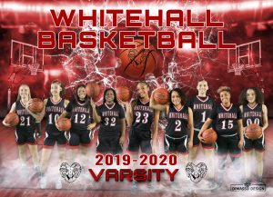 Varsity Girls Basketball Team Picture