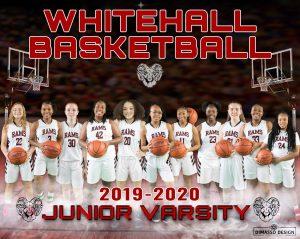 JV Girls Basketball Team Picture
