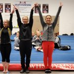 Revadelo placed 6th on bars and beam at Thomas Worthington