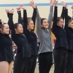 Revadelo placed 3rd on Beam at Darby