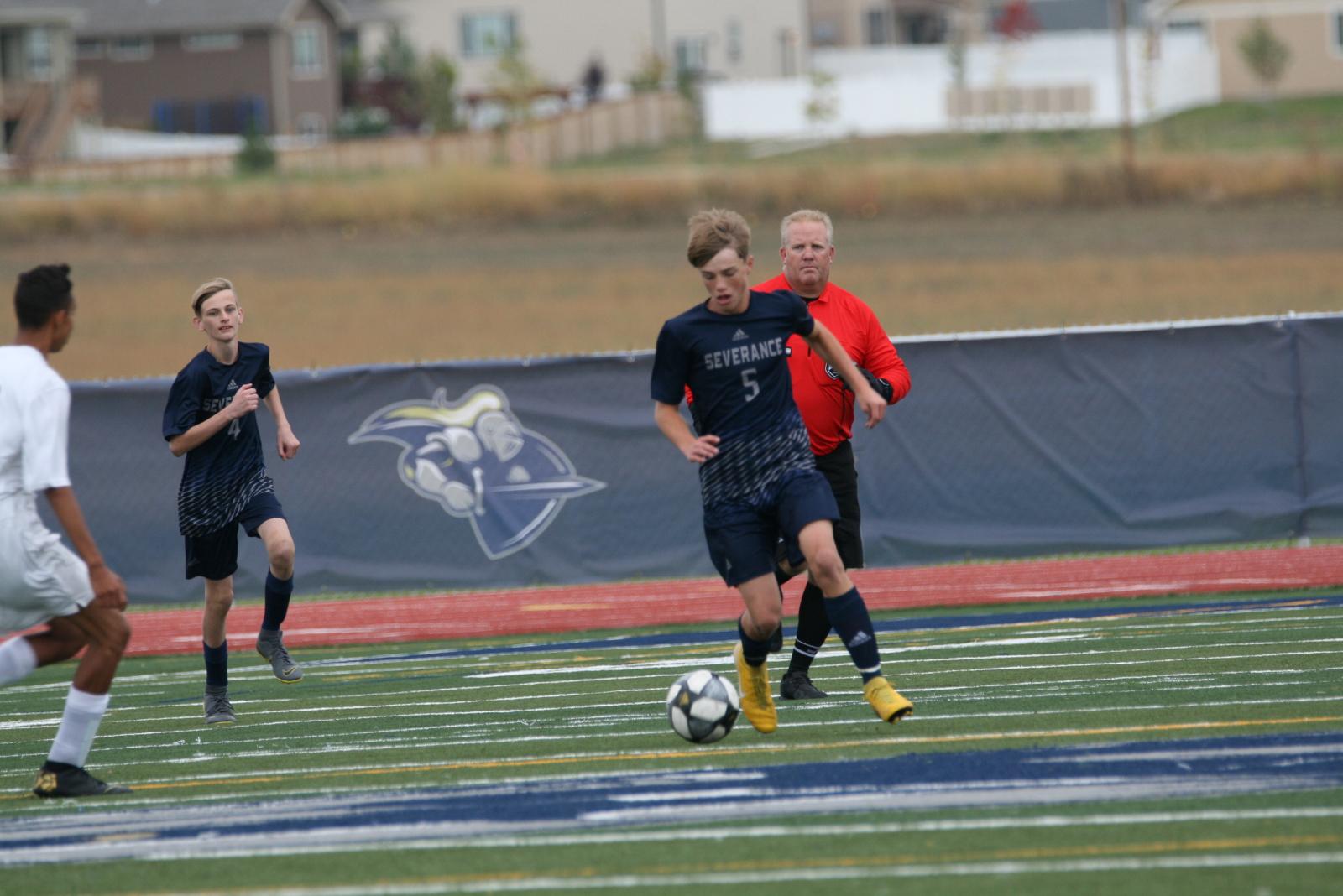 Boys Soccer Ties Niwot in Duel #2
