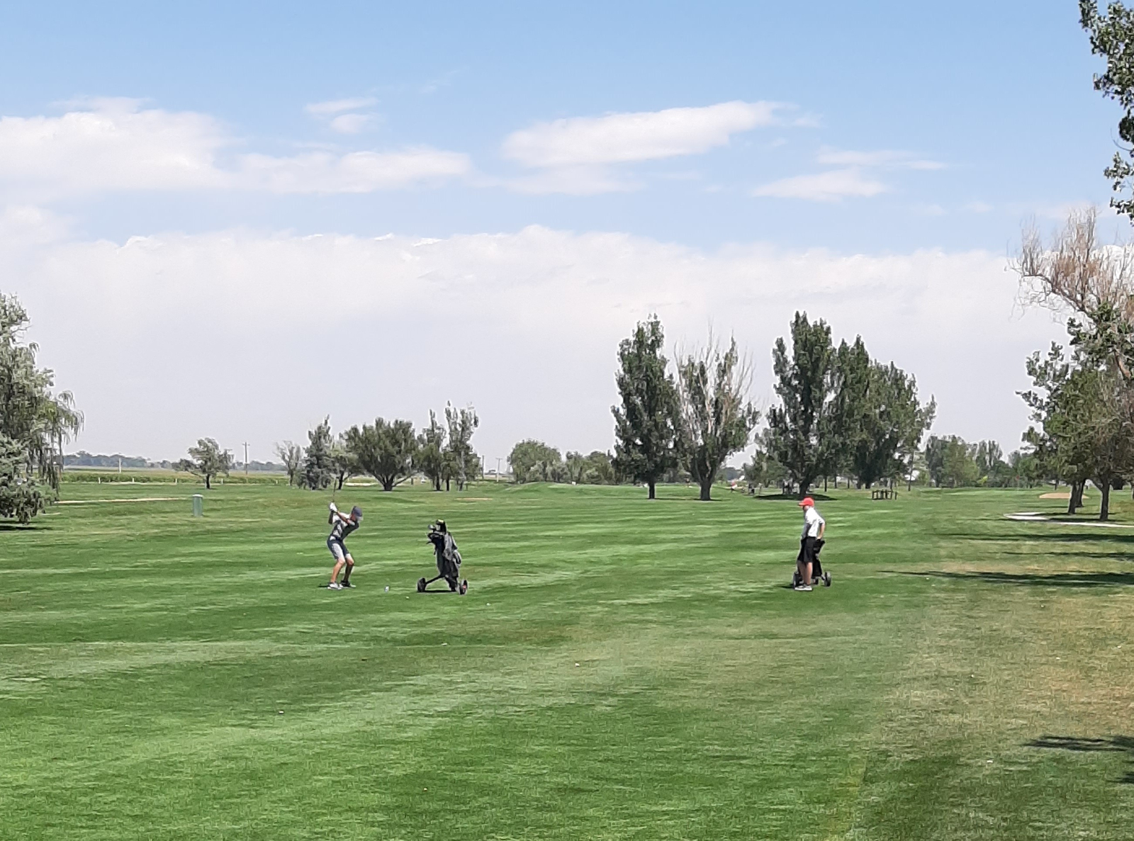 Boys Golf team shows up in Eaton