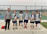 Silver Knights boys tennis is officially on the courts!