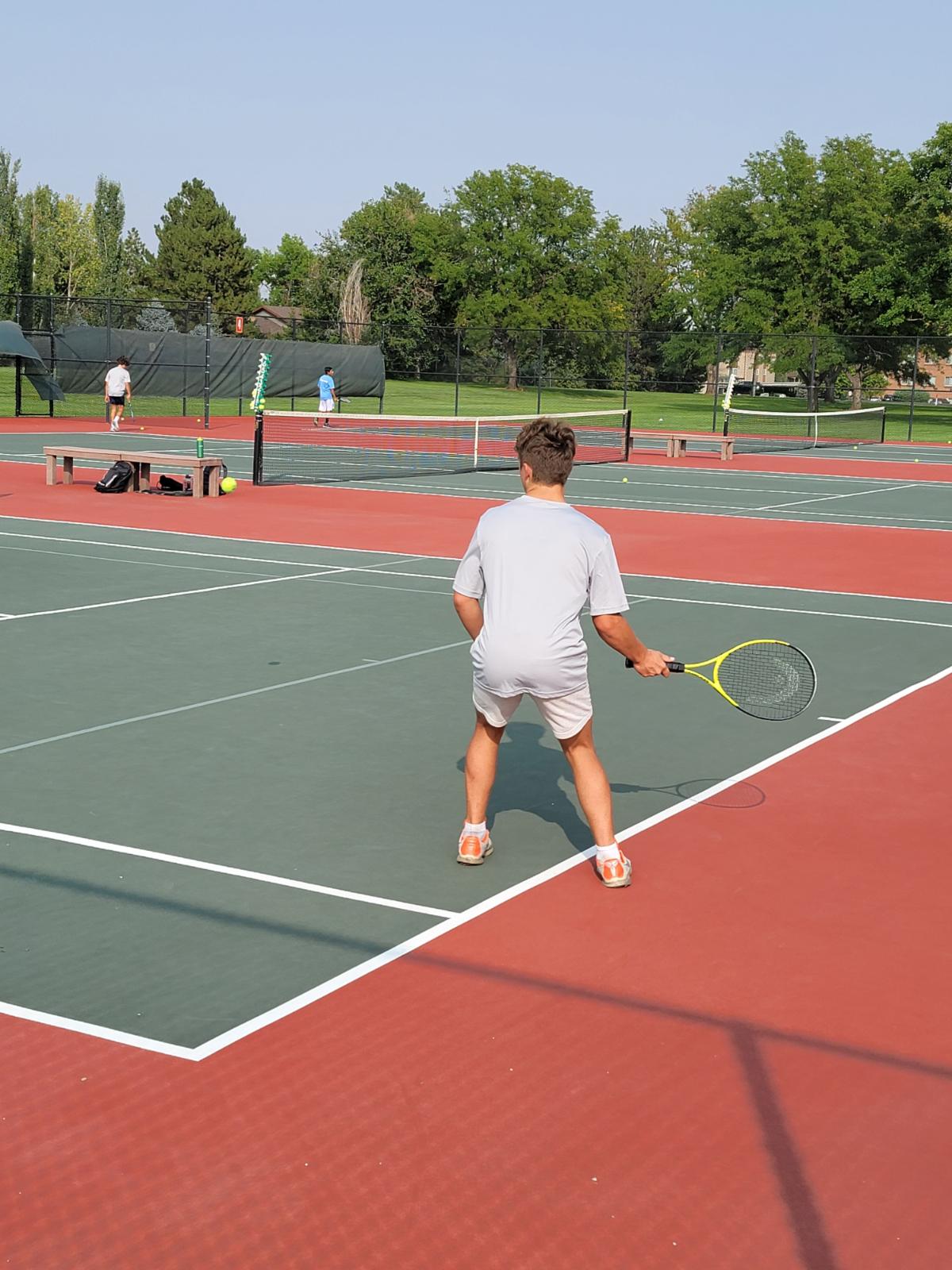 Boy's Tennis Greeley West 9/15/20