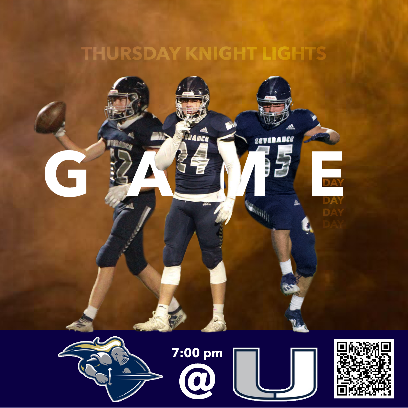 SHS Football VS University High School-Live Streaming Option Available